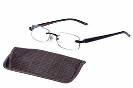 Foster Grant Magnivision Rick W/case Reading Glasses +2.50 for Men and W... - $19.95