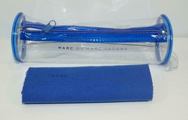 NEW AUTH MARC BY MARC JACOBS CLEAR TRANSPARENT SUNGLASSES GLASSES CASE w... - $14.01