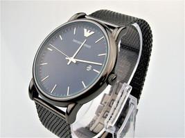 Emporio Armani AR11053 Mesh Strap Watch In Gunmetal - $109.60