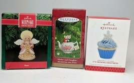 Hallmark Keepsake Ornaments Lot Of 3 -Mother and Daughter, Christmas Cup... - $29.70