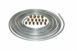 A-Team Performance Brake Line Kit 25 ft 3/16 Steel Tube Roll with Fittings image 2