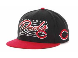 Cincinnati Reds 47 Brand MLB Baseball Triple Crown Snapback Flat Bill Ca... - £17.06 GBP