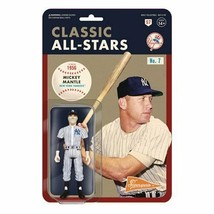 "NEW SEALED Super7 Mickey Mantle ReAction 3.75"" Action Figure 1956 Yankees   - $24.74"