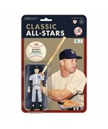 """NEW SEALED Super7 Mickey Mantle ReAction 3.75"""" Action Figure 1956 Yankees   - $24.74"""