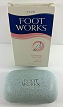 NOS AVON FOOT WORKS Exfoliating Bar Soap 4.2 oz - $9.85