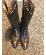 Mens Brown RED WING 9801 Pecos Cowboy Western Boots Leather Work Chore 9... - $64.34