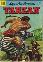 Tarzan Comic Book #71, Dell Comics 1955 VERY GOOD - $13.54