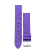Michele 16mm Lavender Purple Rubber Strap MS16AI040531 Deco 16 Lilou Clo... - $34.43