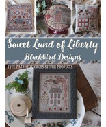 CLEARANCE Sweet Land Of Liberty 5 designs cross... - $16.00