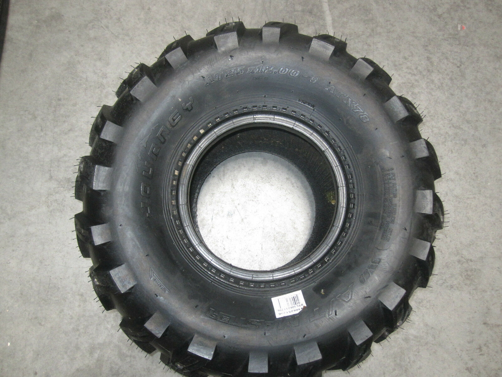 JOURNEY AT MASTER ATV TIRE AT25x12.00-9