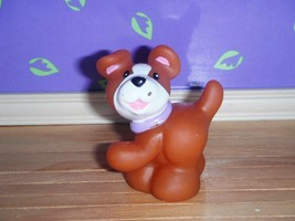 Fisher Price Loving Family Dream Pet Shop Dollhouse Brown Puppy Dog Purp... - $79,34 MXN