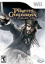 Pirates of the Caribbean: At World's End (Nintendo Wii, 2007) GOOD - $6.19