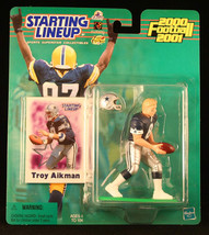TROY AIKMAN / DALLAS COWBOYS 2000-2001 NFL Starting Lineup Action Figure... - $9.50