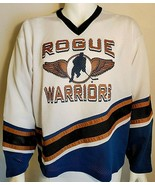 Rogue Warriors Hockey Jersey XL Alpha Sportswear Mesh #11 Blue Canada - $39.58