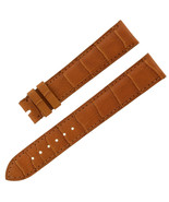 Chopard 18 - 16 mm Saddle Genuine Alligator Leather Women's Watch Band - $179.00
