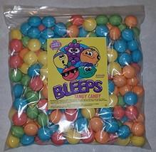 Dubble Bubble Bleeps Coated Candy Balls 28-29mm, 5 Pounds Tangy Fruit Fl... - $25.51