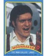 1979 Topps Moonraker #34 The Man Called Jaws > James Bond > Moore > Ric - $1.25