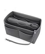 Felt Purse Organizer with Zipper for Women Handbag Tote Diaper Bag, LV S... - $17.80