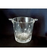 Da Vinci PISA Pattern Crystal Ice Bucket Wine Cooler Made in Italy - $27.00