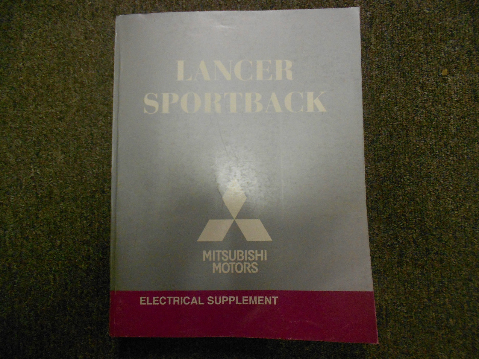 2010 Mitsubishi LANCER SPORTBACK SPORT BACK Electrical SUPP Service Shop Manual