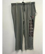 MENS GRAY FLEECE HOUSTON TEXANS SWEATPANTS SZ XL - $23.74