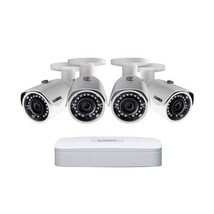 Lorex LN1080-44W, 2K IP Security Camera System with 4 Channel NVR - $539.00