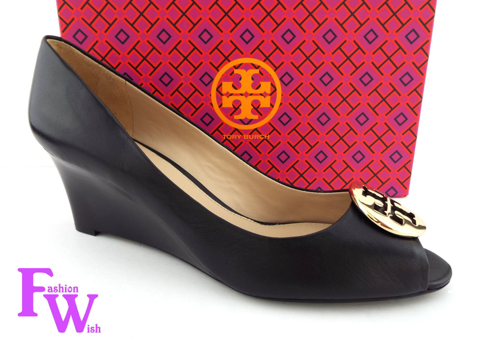 093c1db84897 New Tory Burch Size 12 Kara Black Open Toe and 33 similar items