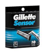 Gillette Sensor 10 Cartridges - $10.95