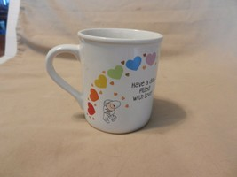 Have a Day filled With Rainbows, Love White Ceramic Coffee Cup from Hallmark - $14.85