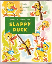 SLAPPY DUCK      Read Along With Me, See & Say Storybook  Ex+++ 1984/85 - $30.56