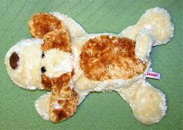 "Aurora SCRUFF Dog PUPPET Floppy Full Body Hand Plush Stuffed Animal Tan Spot 15"" - $24.75"