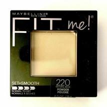 MAYBELLINE Fit Me Set + Smooth Powder - Natural Beige 220 - US SELLER - $16.44