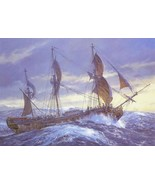 "Wager in the Great Southern Ocean - Geoff Hunt - Framed Picture - 11"" x ... - $32.50"
