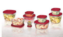 Rubbermaid Food Storage Containers with Easy Find Lids, 24-Piece Set - €30,87 EUR