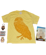 2006 HOOT Movie Childs Youth XSmall T-SHIRT KeyRing Magnet Dry Erase Boa... - $11.99