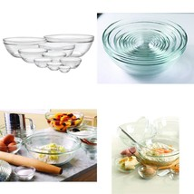 Duralex Stackable 9 Pcs Bowl Withstand Sudden Thermal Shock Hygienic Non... - $623,41 MXN