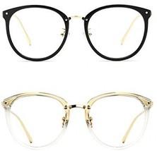 TIJN Vintage Optical Eyewear Non-prescription Eyeglasses Frame With Cle... - $50.45