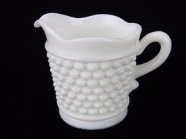 """Vintage Westmoreland Cream Pitcher, Hobnail Design, 3.5"""" x 3"""" Milk Glass  - $12.69"""