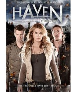 Haven: Complete Fourth Season DVD  - $8.95