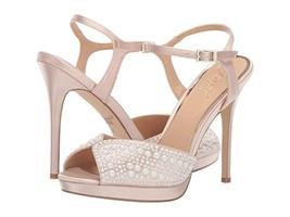 Jewel Badgley Mischka Shane Champagne Platform Sandals - $98.00
