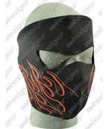 Orange FLAME Neoprene Face Mask Ski Motorcycle  COLD ski Snow Snowboard ... - $11.00