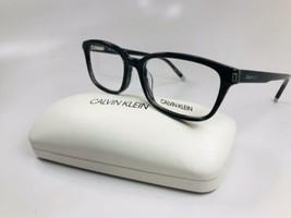 New Calvin Klein CK6007 064 Striped Grey Eyeglasses 53mm with Case - $57.37