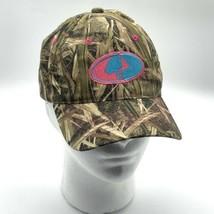 Mossy Oak Hat w Pink & Blue Logo - $12.38