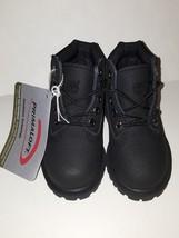 TIMBERLAND TODDLER 6-INCH PREMIUM WATERPROOF HELCOR BOOTS/ 34875/ M/M/BLACK - $64.99