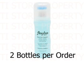 2xAngelus Gel Cleaner Shoe cleaner /Boot Sneaker/Gym Cleaner with Applic... - $9.99