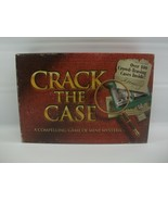 Crack The Case Board Game Complete 1993 Milton Bradley 4414 Mysteries Adult - $30.53