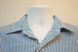 Polo Ralph Lauren Andrew Midweight Pinstriped Button-Front Shirt, Men's ... - $11.81