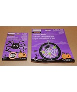 "Halloween Yarn Spider Kit & Web Kit 26pc Total Creatology 7"" Circle 170K  - $6.94"