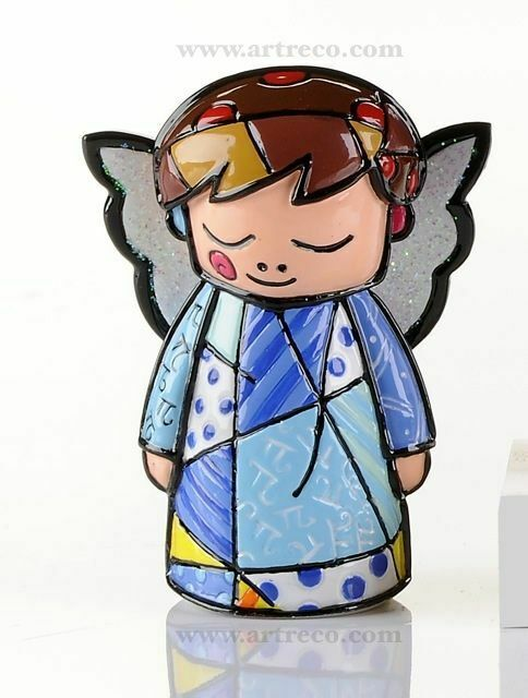 Romero Britto Mini Angel Figurine  #331848