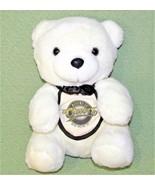 "Vintage CHEERS TEDDY BEAR TV SHOW 1994 11"" Plush Stuffed White Animal Ba... - $29.44"